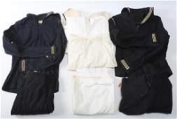 WWII US NAVY DRESS BLUE JUMPER UNIFORM MIXED LOT