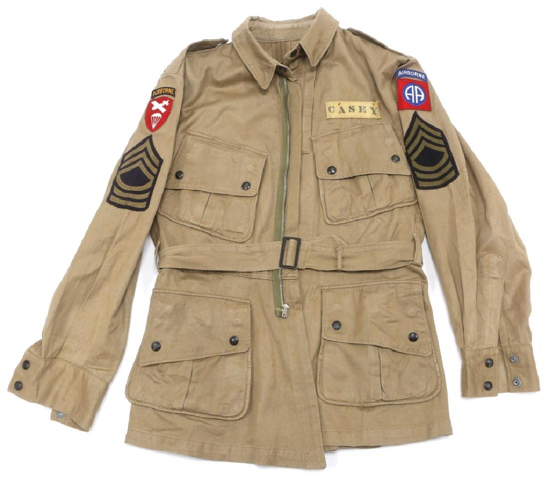 WWII US PARATROOPER 82nd AIRBORNE NAMED UNIFORM - 2
