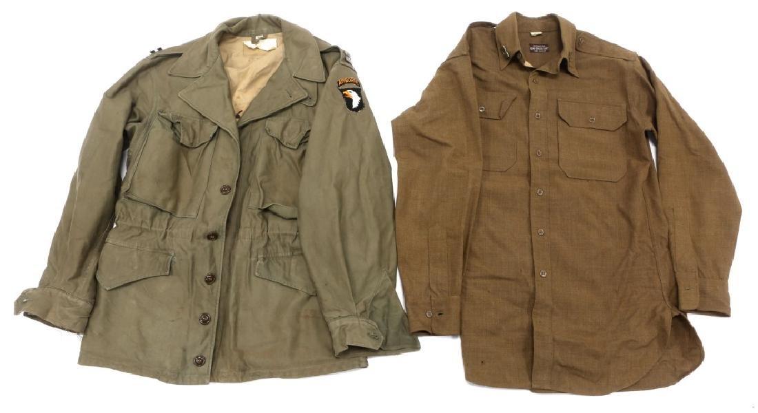 WWII PARATROOPER 101st AIRBORNE NAMED OFF UNIFORM