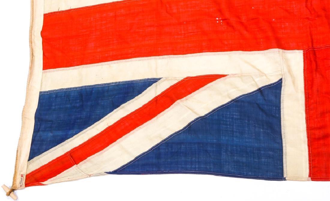 WWII BRITISH UNION JACK FLAG LOT OF 3 - 10