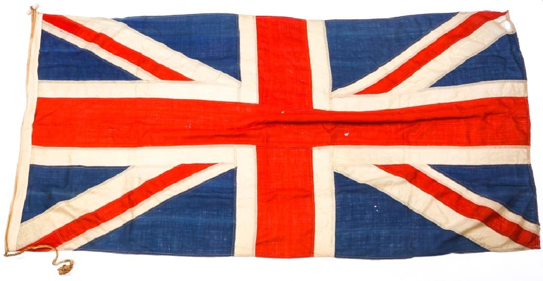 WWII BRITISH UNION JACK FLAG LOT OF 3 - 2