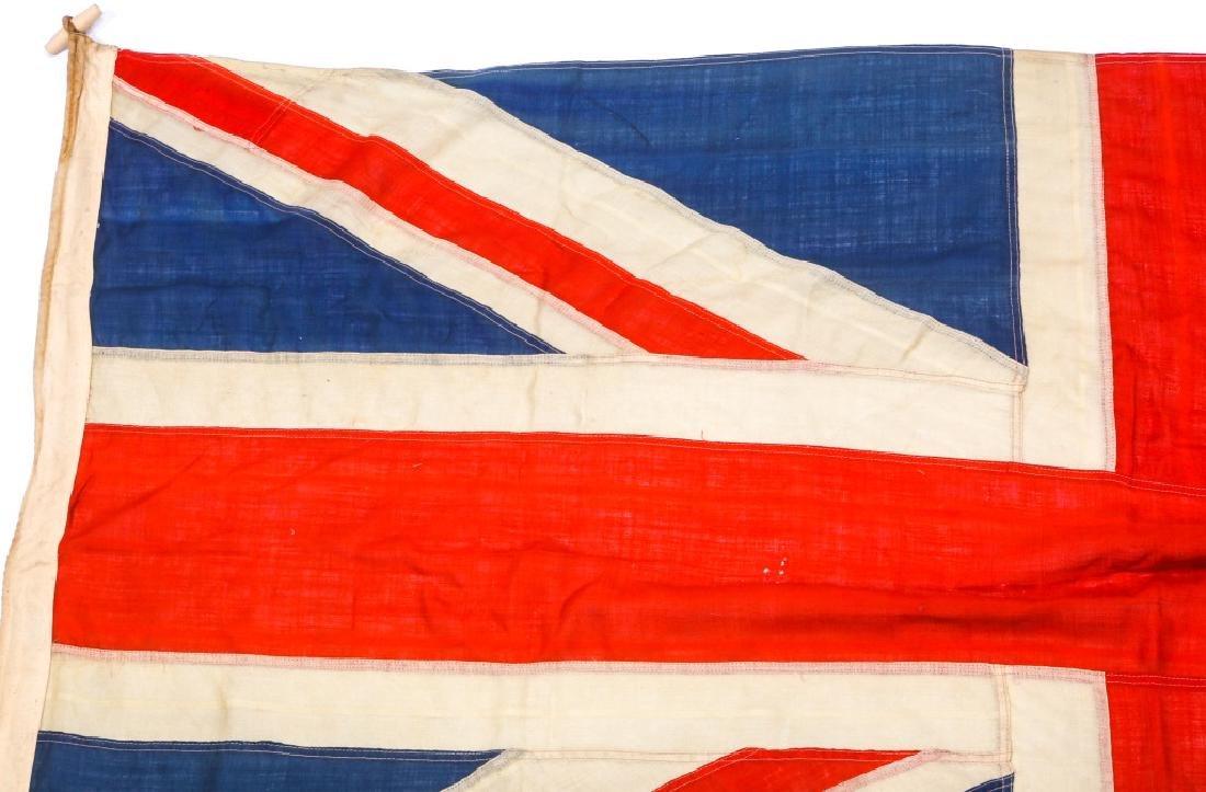 WWII BRITISH UNION JACK FLAG LOT OF 3 - 3