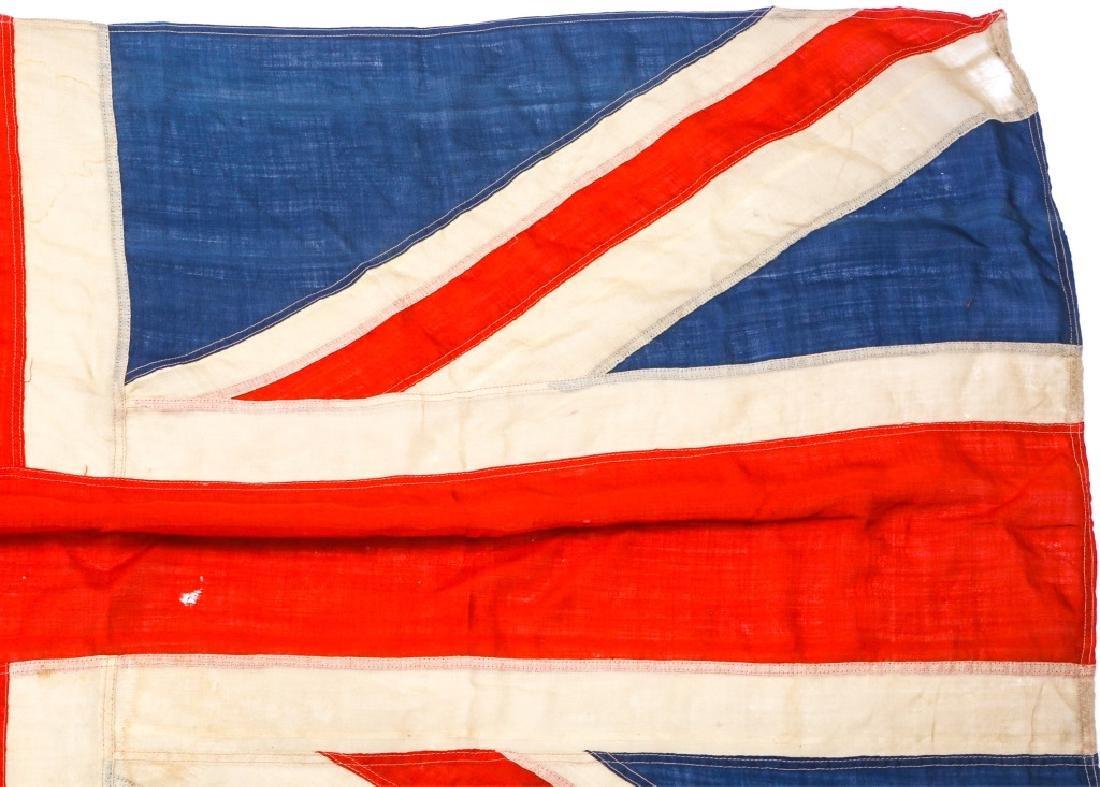 WWII BRITISH UNION JACK FLAG LOT OF 3 - 4