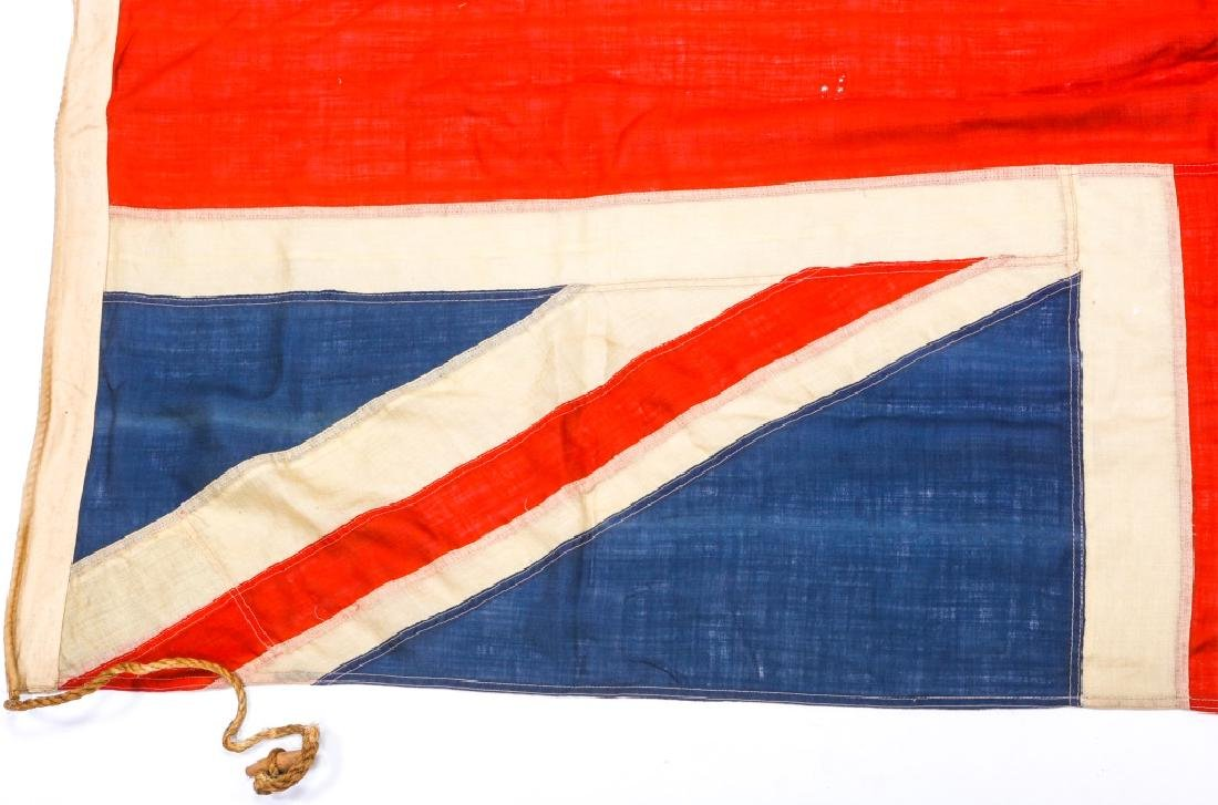 WWII BRITISH UNION JACK FLAG LOT OF 3 - 5
