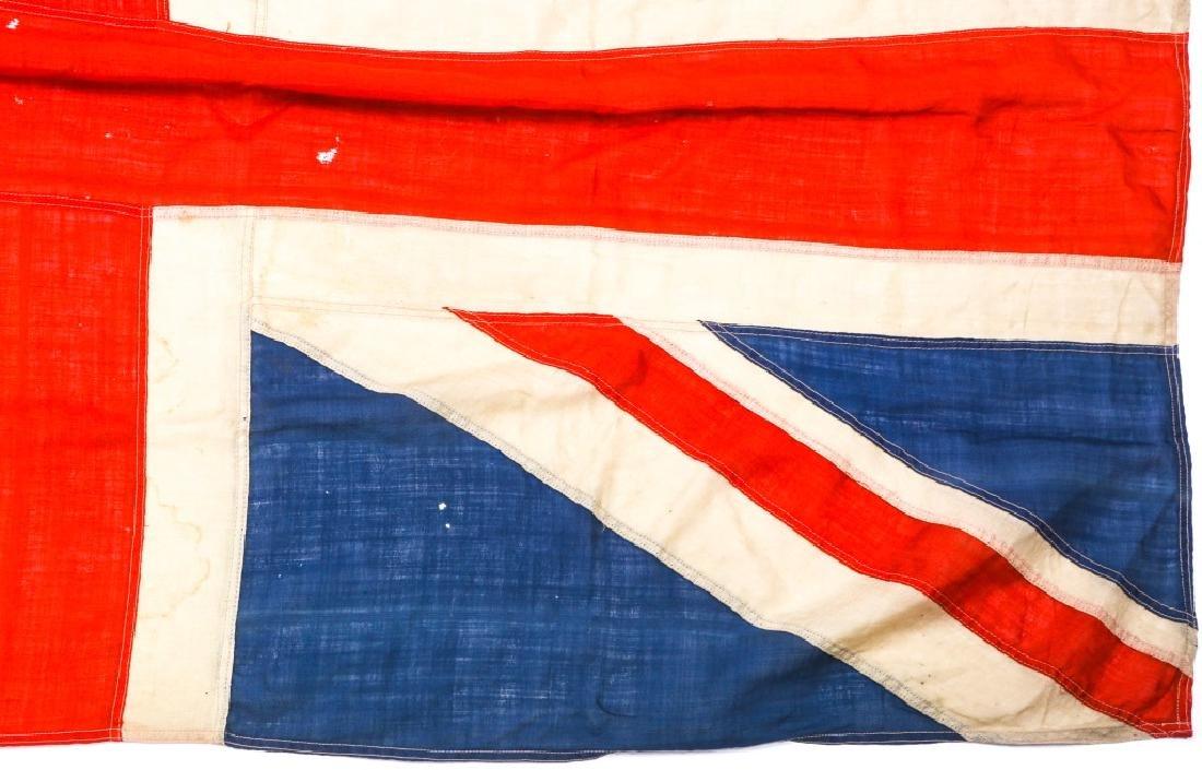 WWII BRITISH UNION JACK FLAG LOT OF 3 - 6