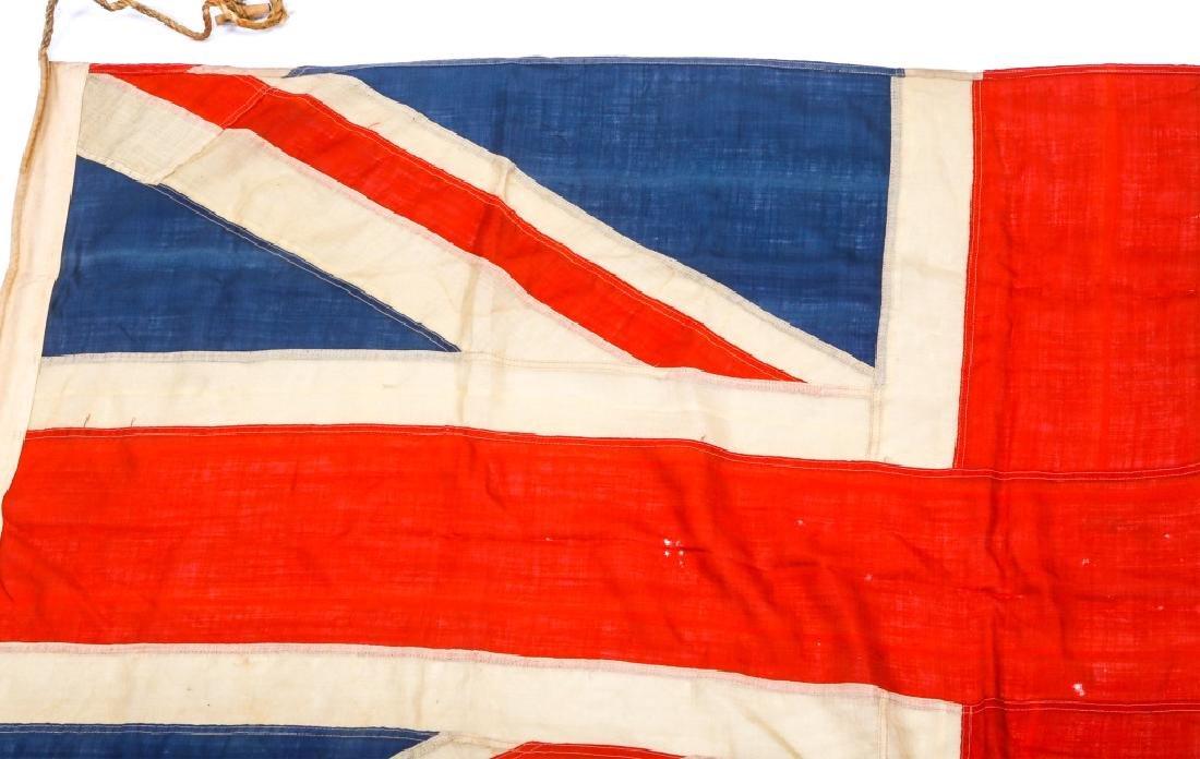 WWII BRITISH UNION JACK FLAG LOT OF 3 - 8