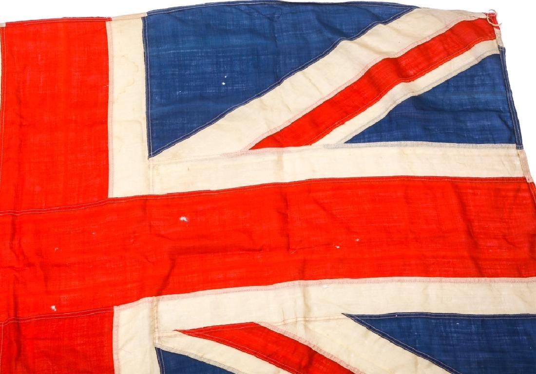 WWII BRITISH UNION JACK FLAG LOT OF 3 - 9