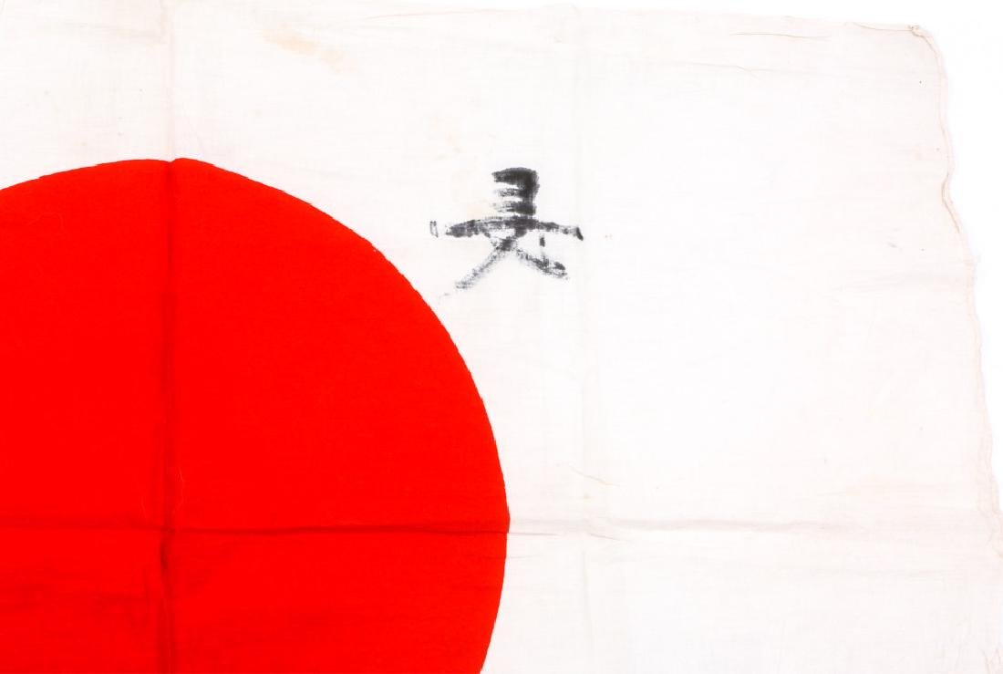 WWII JAPANESE FLAG LOT OF 2 - 9