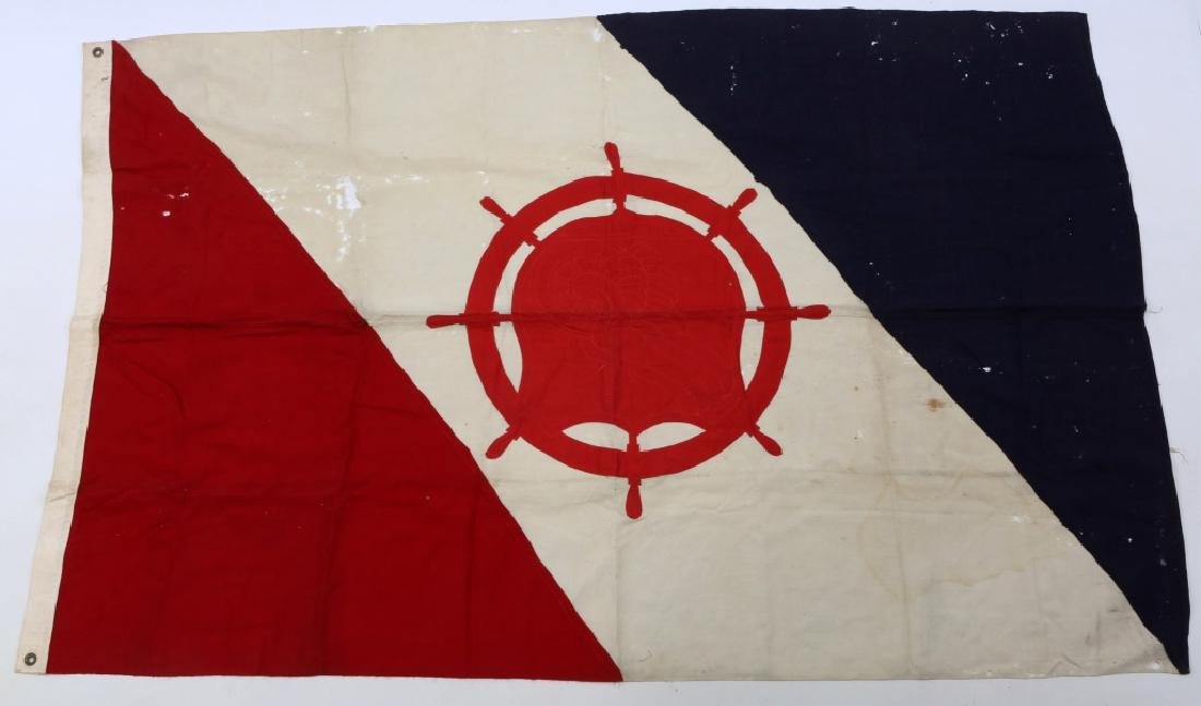WWII US ARMY TRANSPORTATION CORPS FLAG LOT OF 2 - 2