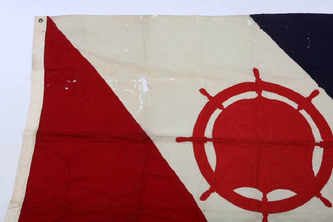 WWII US ARMY TRANSPORTATION CORPS FLAG LOT OF 2 - 3