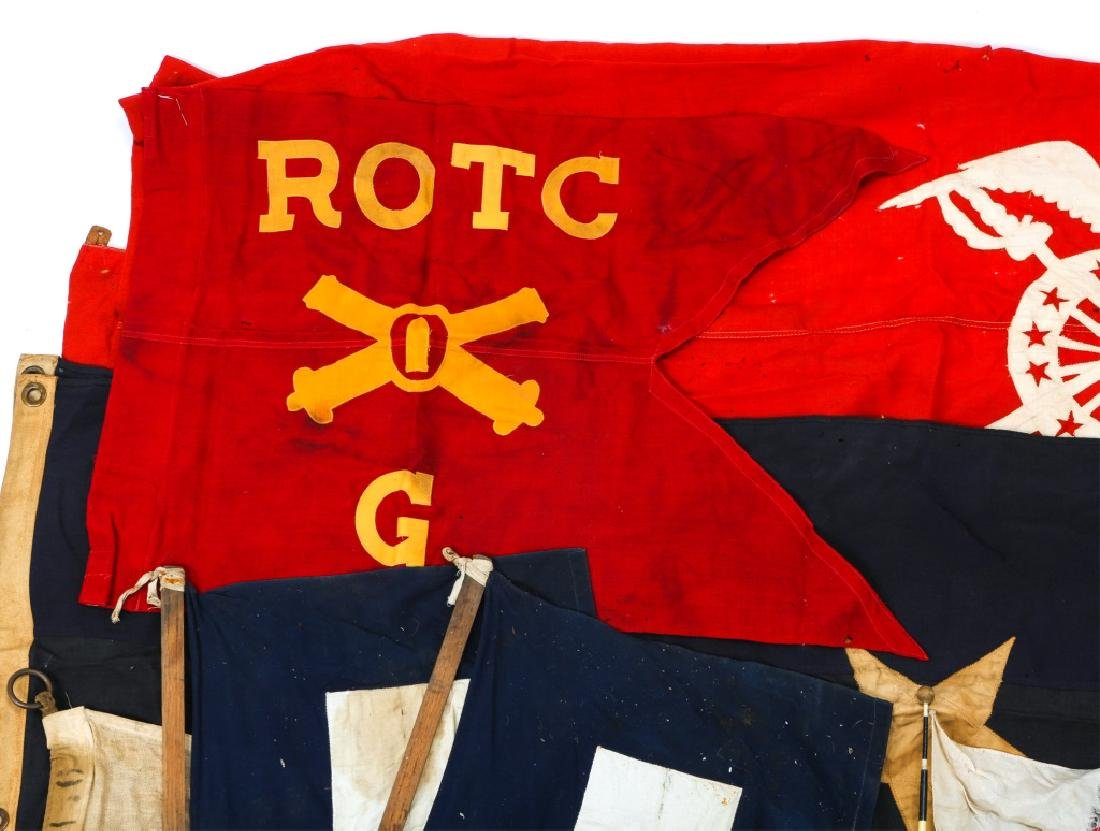 MILITARY FLAG LOT OF 10 - 2