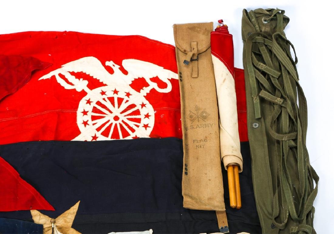 MILITARY FLAG LOT OF 10 - 3