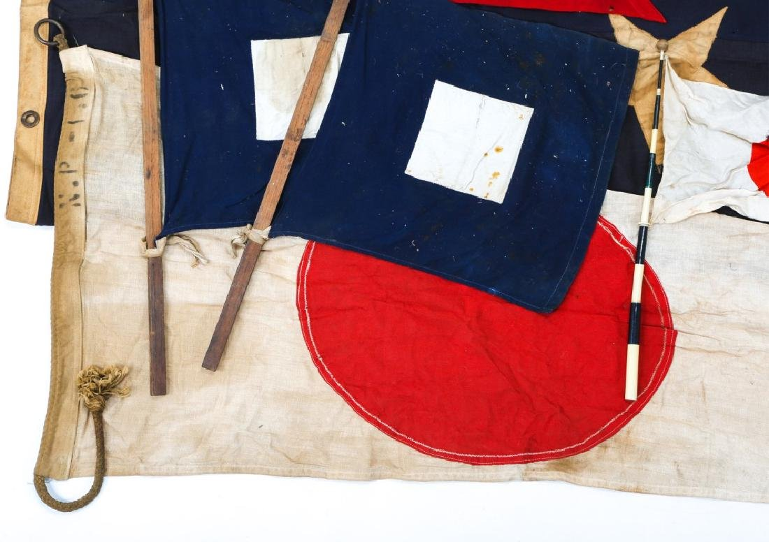 MILITARY FLAG LOT OF 10 - 4