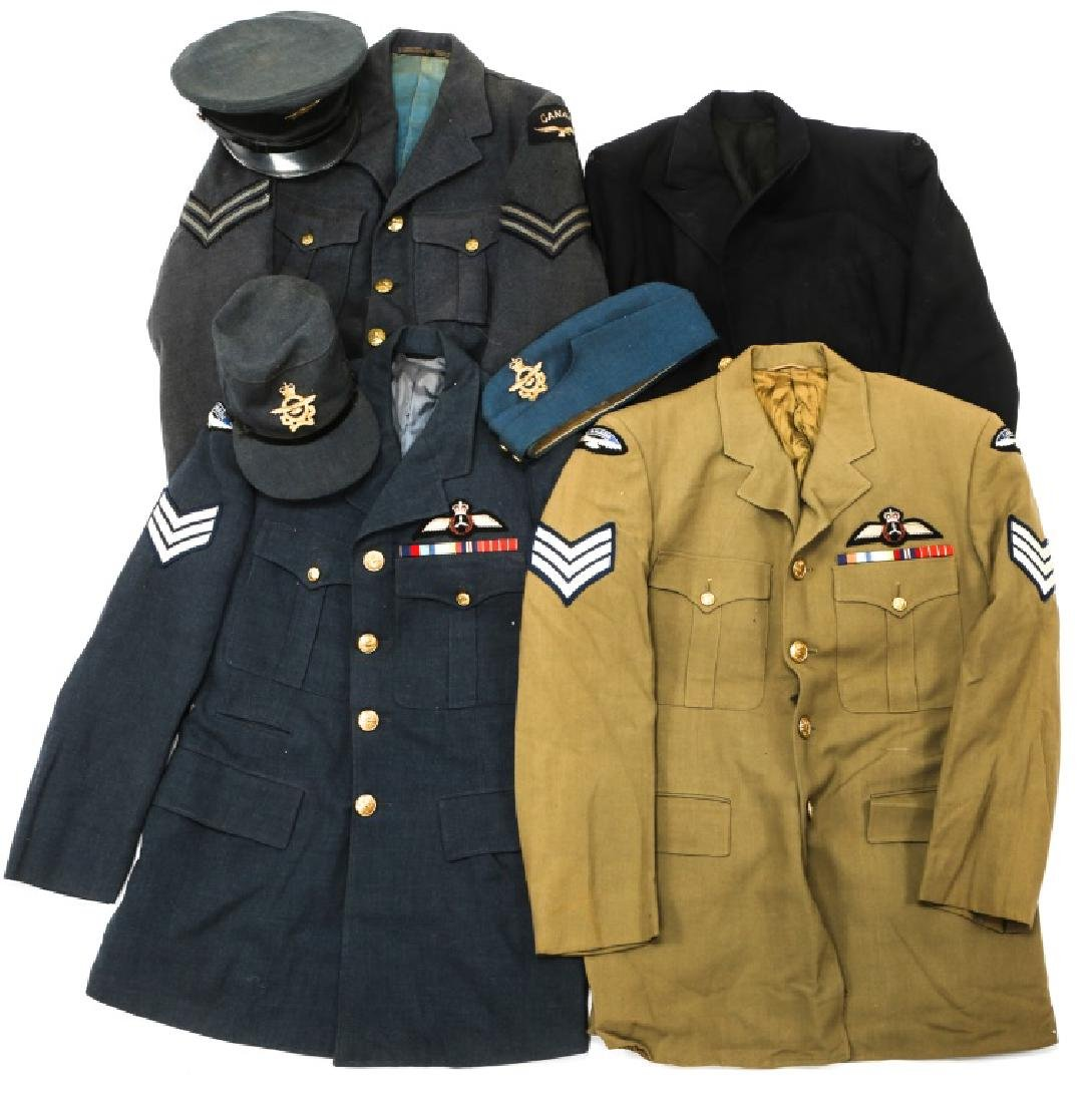 ROYAL CANADIAN AIR FORCE UNIFORMS HATS/CAPS