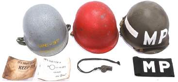 KOREAN  VIETNAM US M1 HELMET LOT OF 3