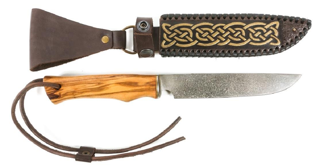 RUSSIAN HUNTING KNIFE BY IVAN KIRPICHEV