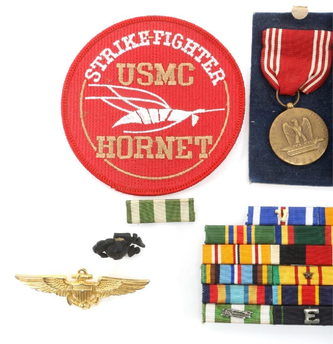 US MILITARY MEDALS, MEDAL BAR, BADGE LOT - 2