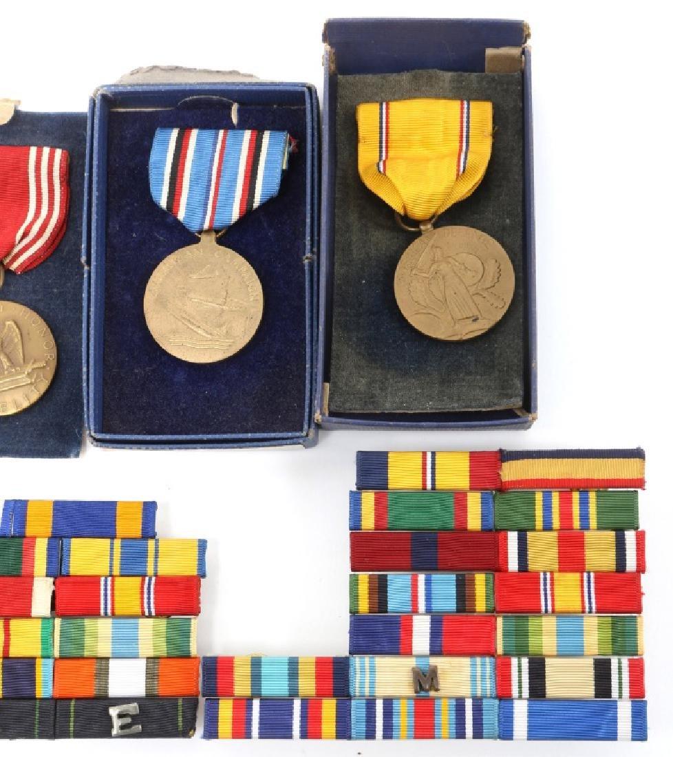 US MILITARY MEDALS, MEDAL BAR, BADGE LOT - 3