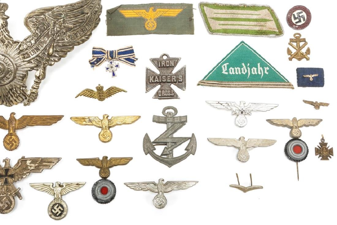 WORLD WAR ERA GERMAN BADGE AND INSIGNIA LOT - 3