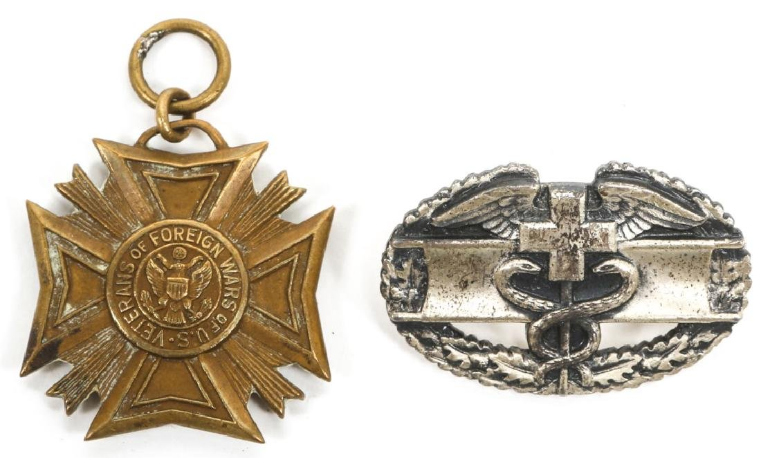 US MILITARY BADGES, PINS, AND MEDALS - 6