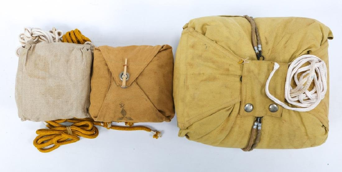 WWII JAPANESE ARMY CARGO PARACHUTE - 4