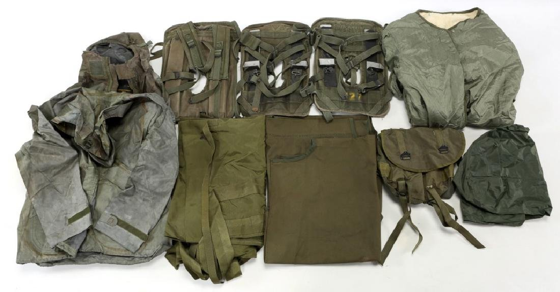 US MILITARY FIELD GEAR MIXED LOT