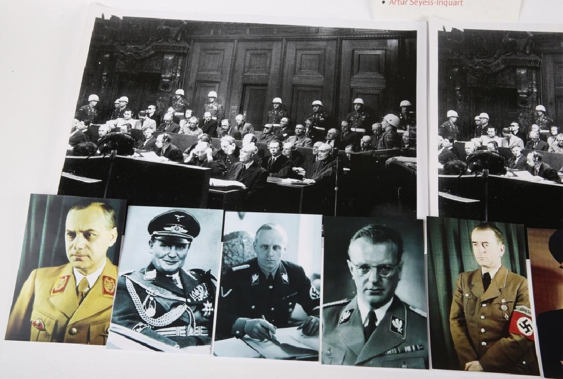 WWII NUREMBERG GERMAN PRISONER SIGNED HANDKERCHIEF - 10