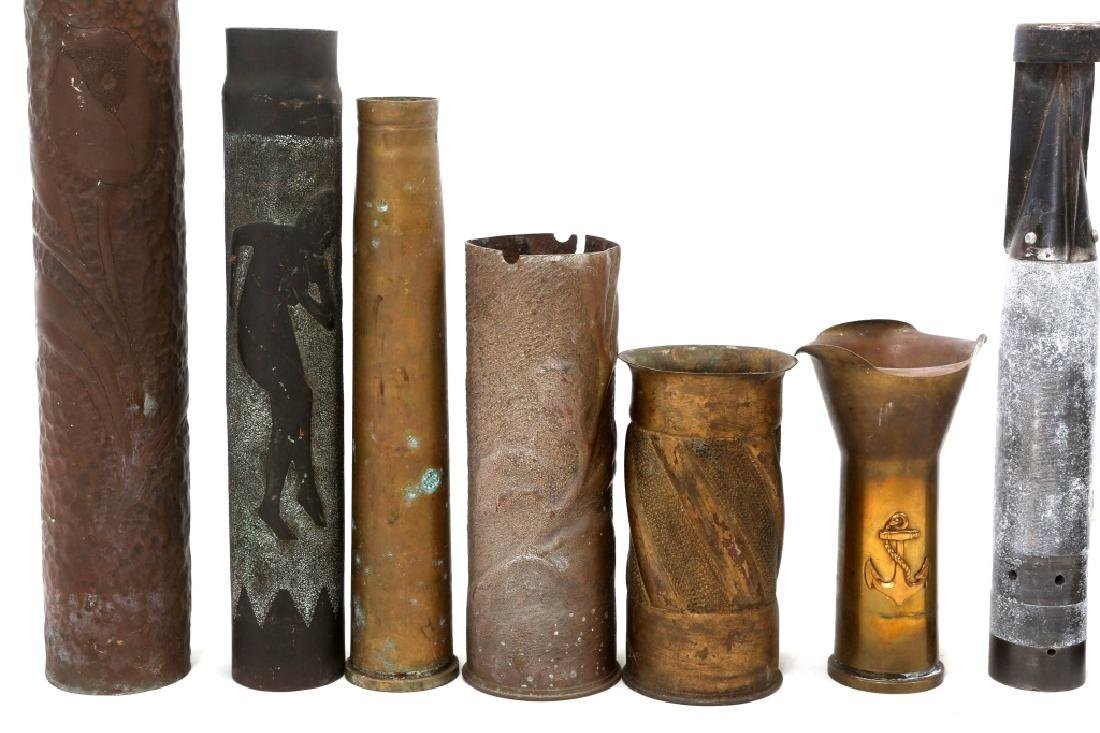 US TRENCH ART ITEMS LOT OF 11 - 2