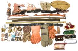WWII WORLD MILITARY ITEM MIXED LOT