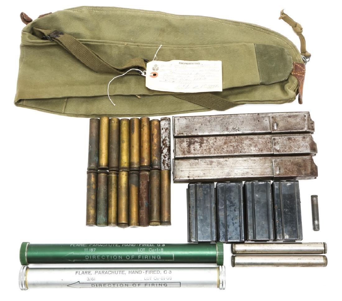 M1 CARBINE & STEN GUN MAG & MIXED GUN ITEM LOT
