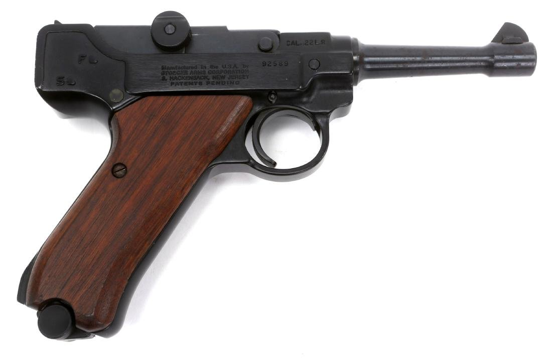 STOEGER ARMS LUGER PISTOL