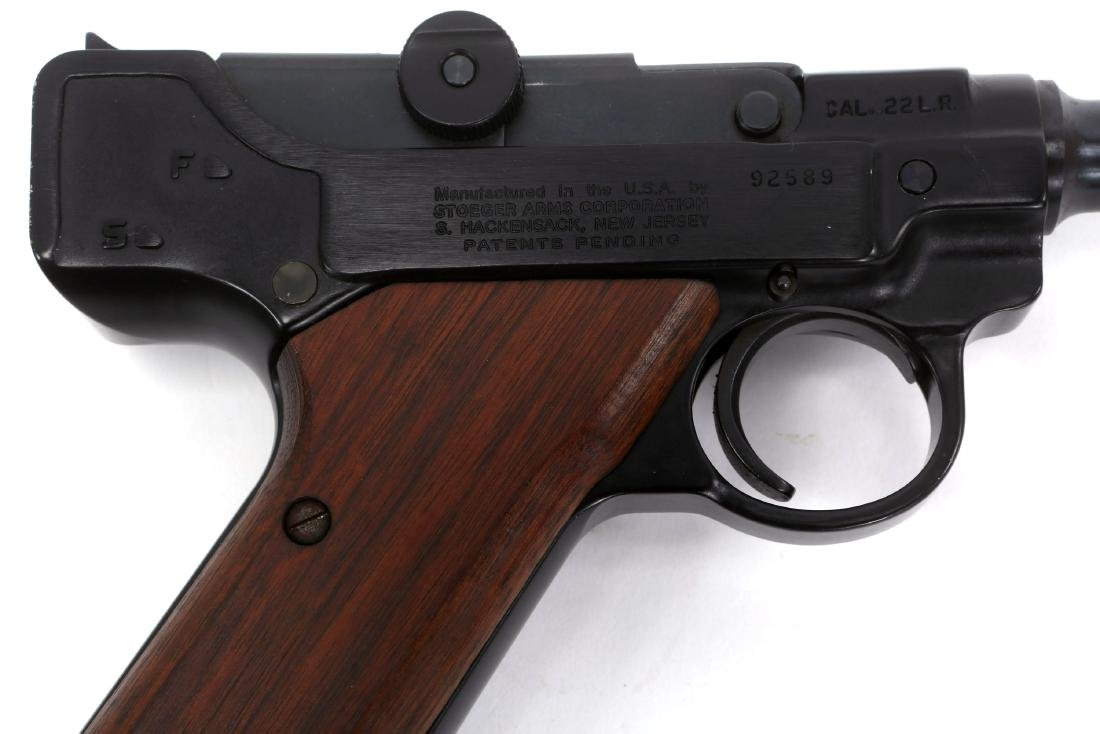 STOEGER ARMS LUGER PISTOL - 2