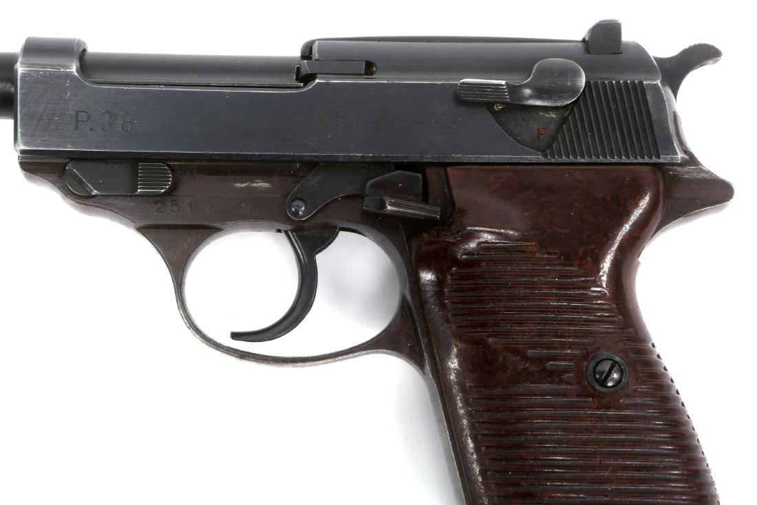 WWII GERMAN WALTHER P38 PISTOL - 4