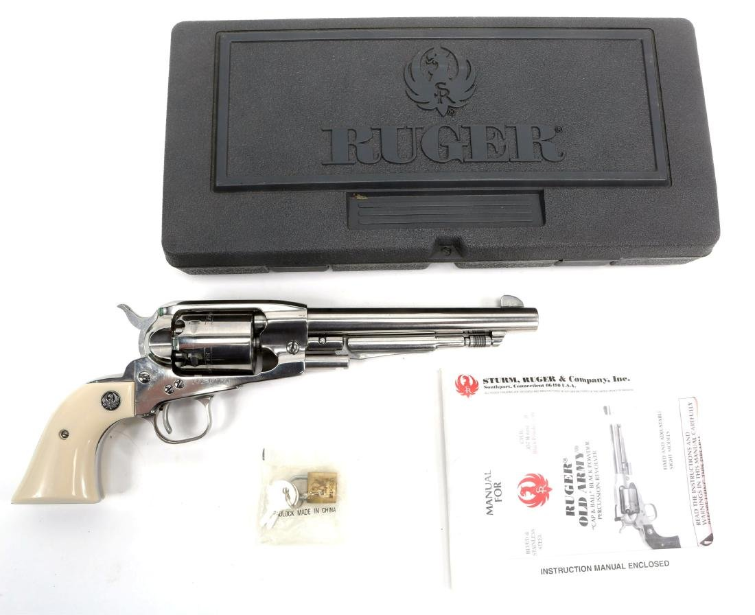 RUGER OLD ARMY .457 CAL PERCUSSION REVOLVER