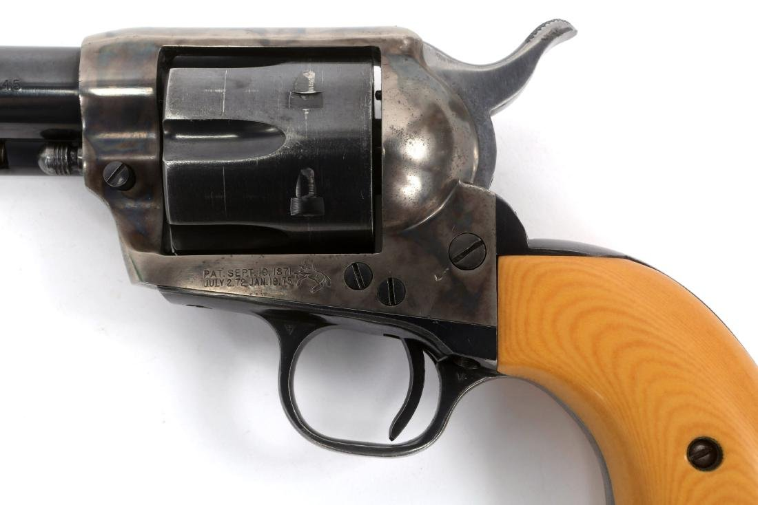 1970 COLT SINGLE ACTION ARMY 2nd GEN REVOLVER - 4