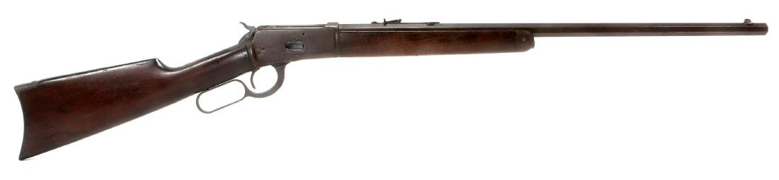 1918 WINCHESTER MODEL 1892 .44 WCF RIFLE
