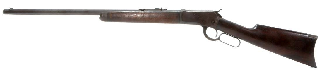 1918 WINCHESTER MODEL 1892 .44 WCF RIFLE - 4