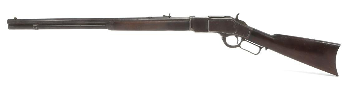 1896 WINCHESTER MODEL 1873 .38 WCF RIFLE - 4