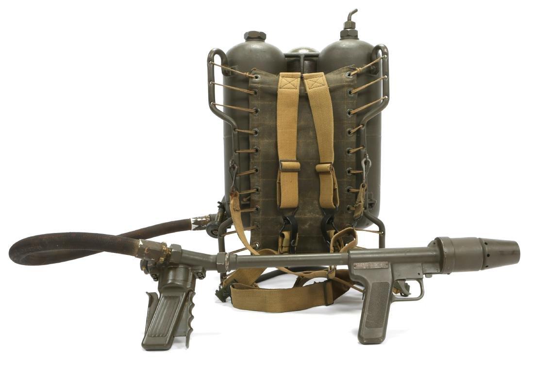 WWII US CHEMICAL WARFARE SERVICE FLAMETHROWER - 3