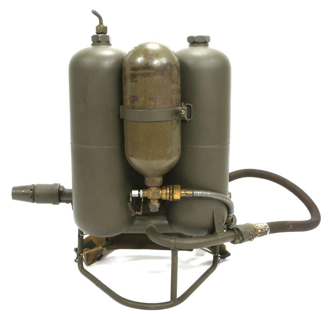 WWII US CHEMICAL WARFARE SERVICE FLAMETHROWER - 4