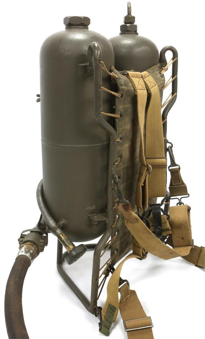WWII US CHEMICAL WARFARE SERVICE FLAMETHROWER - 6