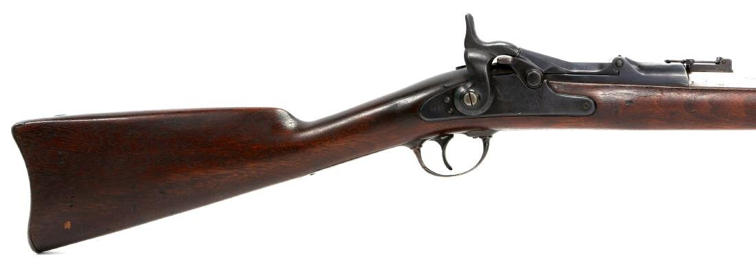 US SPRINGFIELD 1863 RIFLE 1869 TRAPDOOR CONVERSION - 2