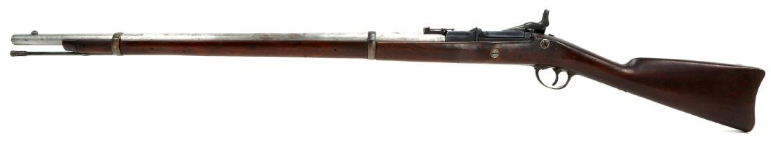 US SPRINGFIELD 1863 RIFLE 1869 TRAPDOOR CONVERSION - 5
