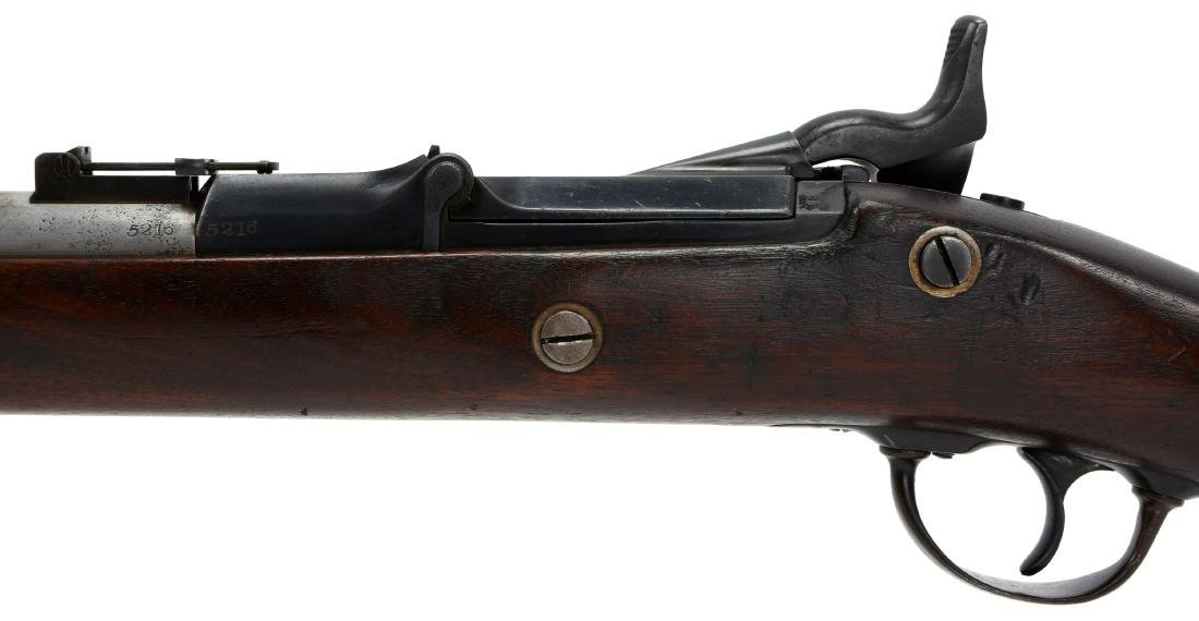 US SPRINGFIELD 1863 RIFLE 1869 TRAPDOOR CONVERSION - 8