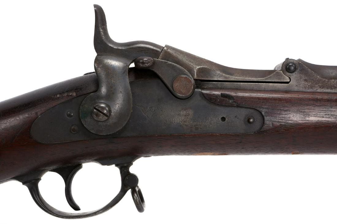 US SPRINGFIELD MODEL 1873 RIFLE - 4