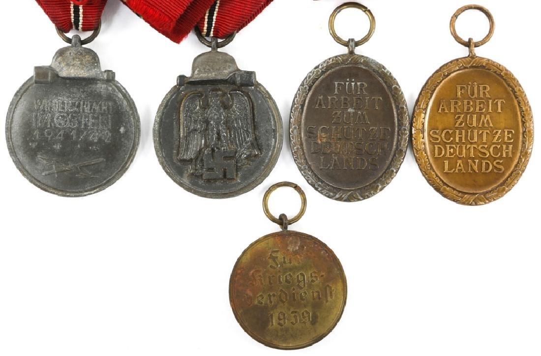 WWII GERMAN MEDAL MIXED LOT OF 5 - 4