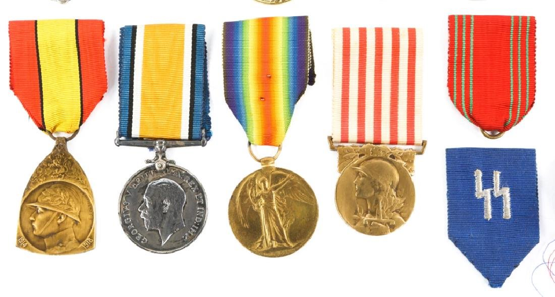 WWII WORLD MEDAL MIXED LOT OF 9 - 3