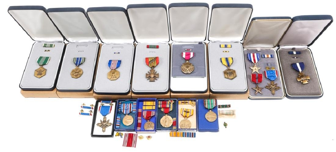 US MILITARY MEDAL MIXED LOT OF 16