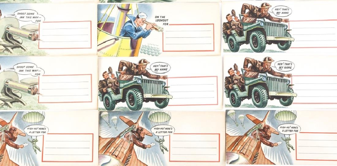 WWII US WAR TIME ENVELOPE LOT OF 12 DATED 1942 - 3