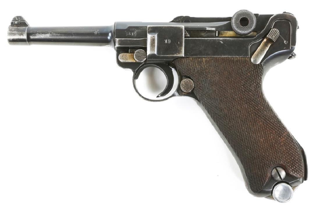 1939 MAUSER LUGER PISTOL - 3
